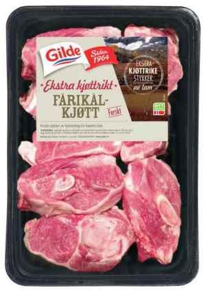 Prøv også Gilde ekstra kjøttrikt Fårikålkjøtt.