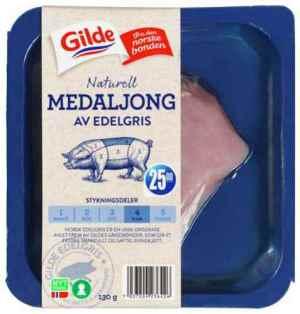 Prøv også Gilde edelgris svinemedaljong.