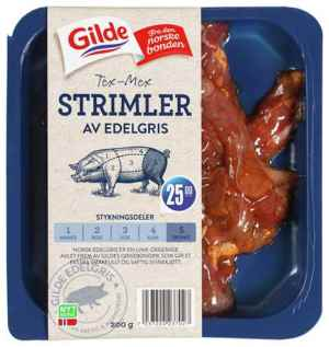 Prøv også Gilde edelgris tex-mex strimler.