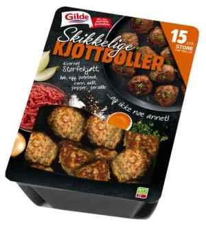 Prøv også Gilde Skikkelige kjøttboller.