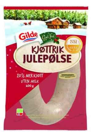 Prøv også Gilde kjøttrik julepølse.