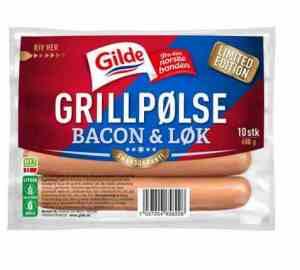Prøv også Gilde grillpølse med bacon og løk.