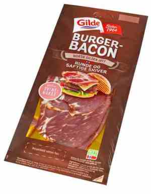 Prøv også Gilde burgerbacon.
