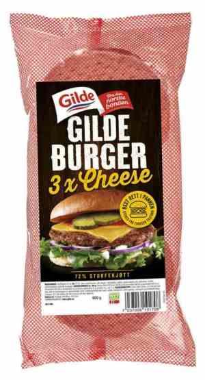 Prøv også Gilde cheeseburger fryst.