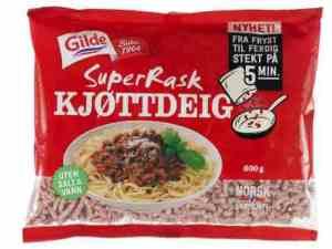 Prøv også Gilde superrask kjøttdeig.