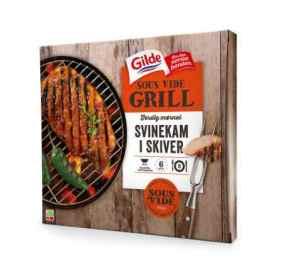 Prøv også Gilde sous vide grill svinekam i skiver.