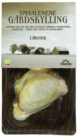 Prøv også Prior smaalenene gårdskylling lårstek.