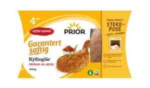 Prøv også Prior Kyllinglår i stekepose med paprika og urter.
