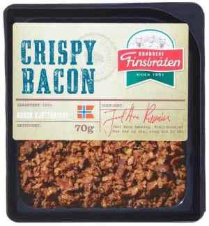 Prøv også Finsbråten crispy bacon.