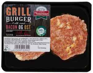 Prøv også Finsbråten grillburger med bacon og ost.