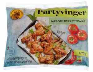 Prøv også Den stolte hane grillede vingeklubber soltørket tomat.
