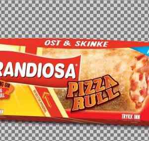 Prøv også Grandiosa pizzarull ost og skinke.
