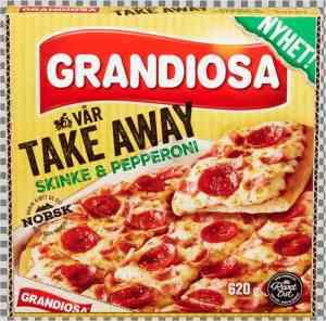 Prøv også Grandiosa vår take away.