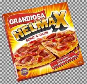 Prøv også Grandiosa helmax salami.