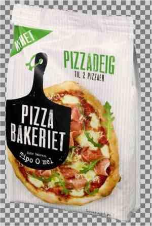 Prøv også Pizzabakeriet pizzadeig 200g.