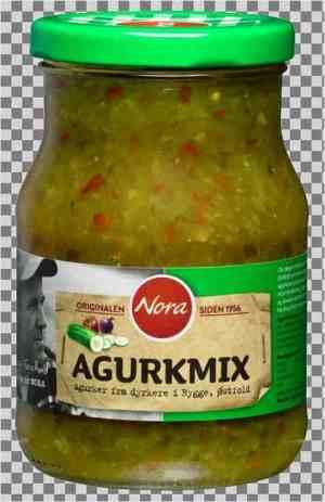 Prøv også Nora agurkmix.