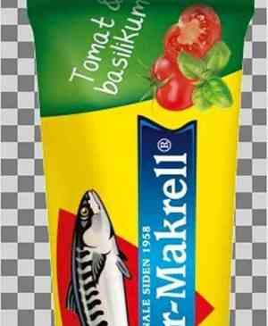 Prøv også Stabbur makrell tomat og basilikum tube.