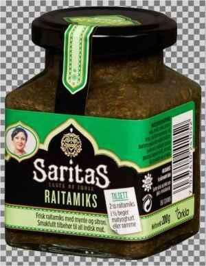 Prøv også Saritas raitamiks.