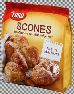 Prøv også Toro scones.