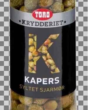 Prøv også Toro kapers.