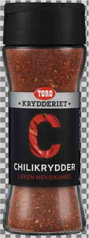 Prøv også Toro krydderiet chilipulver.