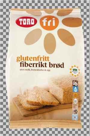 Prøv også Toro glutenfritt fiberrikt brød.