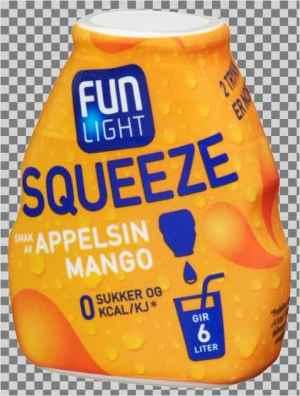 Prøv også Fun Light squeeze appelsin.