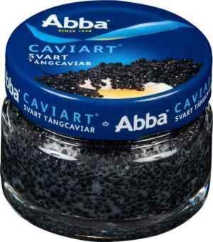 Prøv også Abba caviar svart tangcaviar.