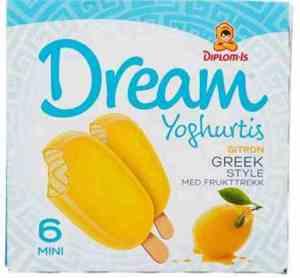 Prøv også Diplom dream greek style med sitron.