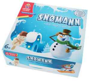 Prøv også Hennig Olsen snømann.