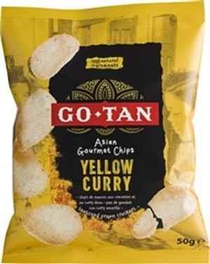Bilde av Go-Tan Yellow Curry Gourmet Chips.