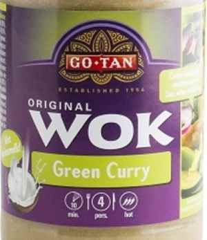 Bilde av Go-Tan Woksaus Green Curry.