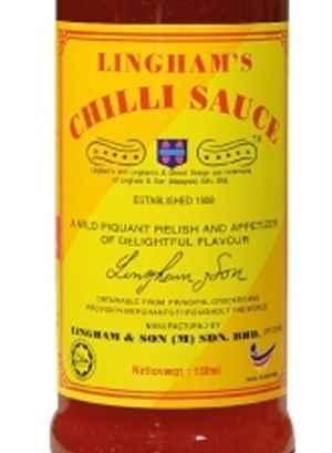 Prøv også Linghams chilisaus.