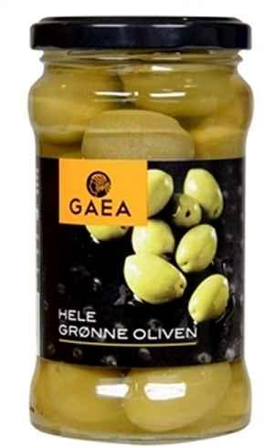 Bilde av Gaea grønne oliven med sten.