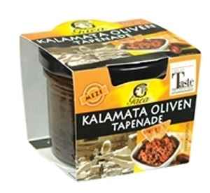 Prøv også Gaea Kalamata oliven tapenade.
