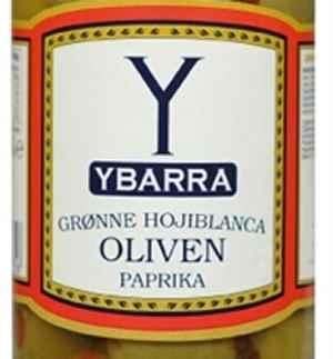 Prøv også Ybarra Grønne oliven med paprika.
