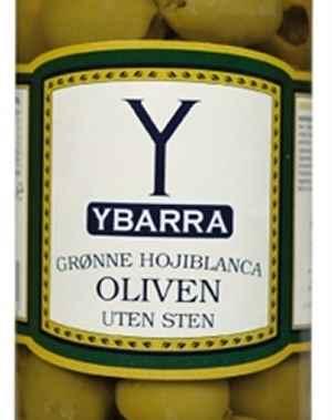 Bilde av Ybarra Grønne oliven uten sten.