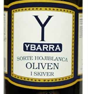 Prøv også Ybarra Sorte oliven i skiver.