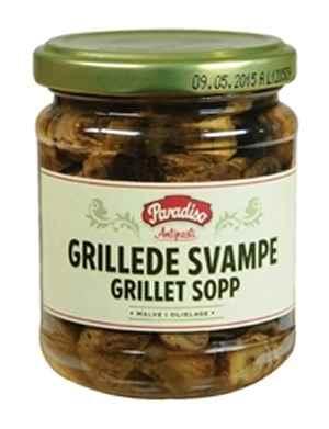 Prøv også Paradiso Grillet champignon.