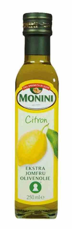 Prøv også Monini Olivenolje Extra Virgin med sitron.