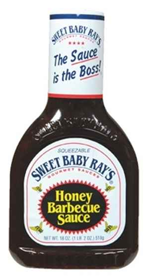 Bilde av Sweet Baby Rays Honey Barbeque sauce.