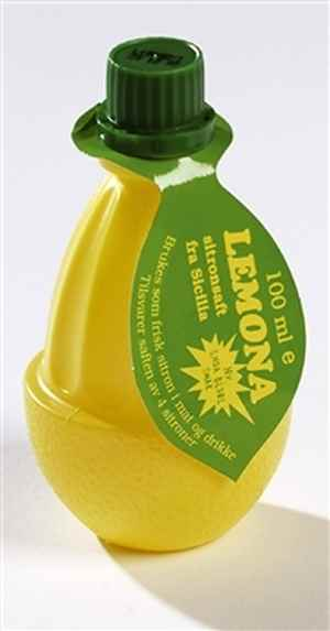 Bilde av Lemona sitronsaft.