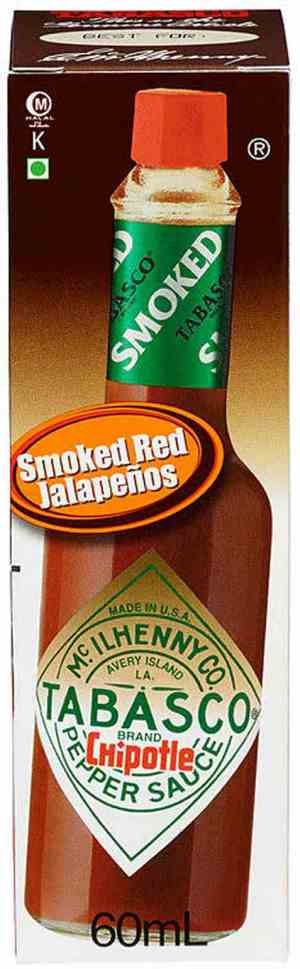 Prøv også Tabasco Brand Chipotle Pepper Sauce.