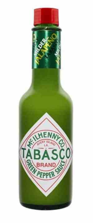 Prøv også Tabasco Brand Green Pepper Sauce.