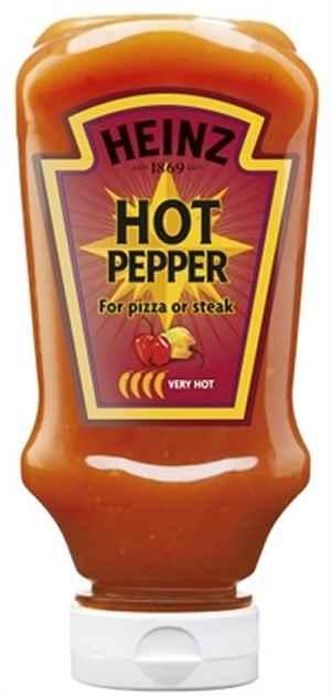Prøv også Heinz Hot Pepper Sauce.