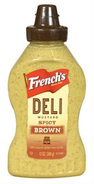 Bilde av Frenchs Spicy Brown Mustard.