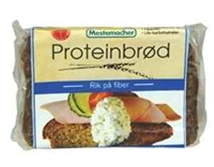 Prøv også Mestemacher Proteinbrød.
