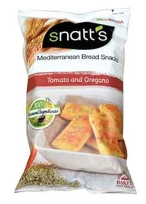 Bilde av Snatts Mediterranean Bread Snacks.