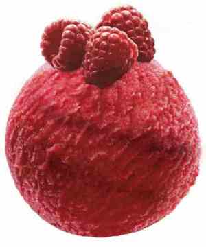Prøv også Mövenpick raspberry.