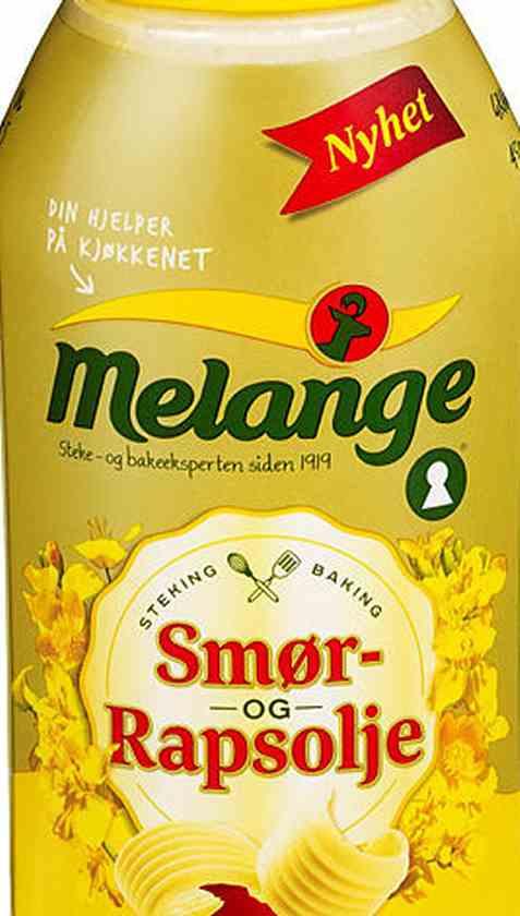 Prøv også Mills Melange flytende med smør og rapsolje.